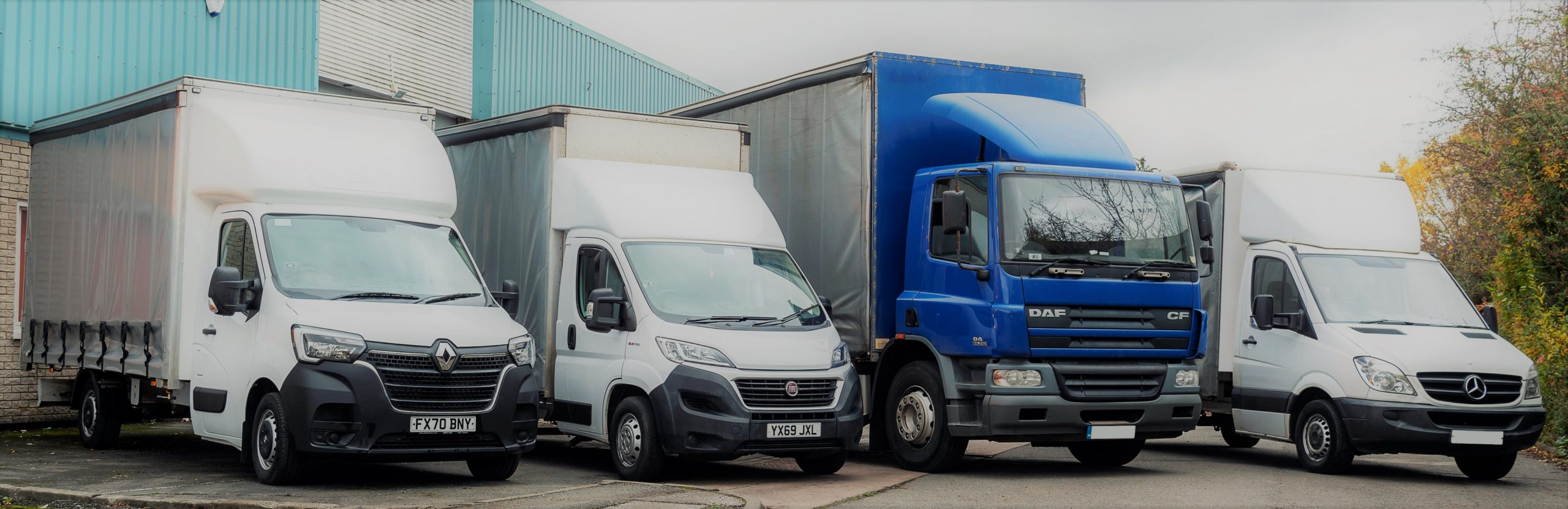 S L Packaging & Transport Transport Fleet
